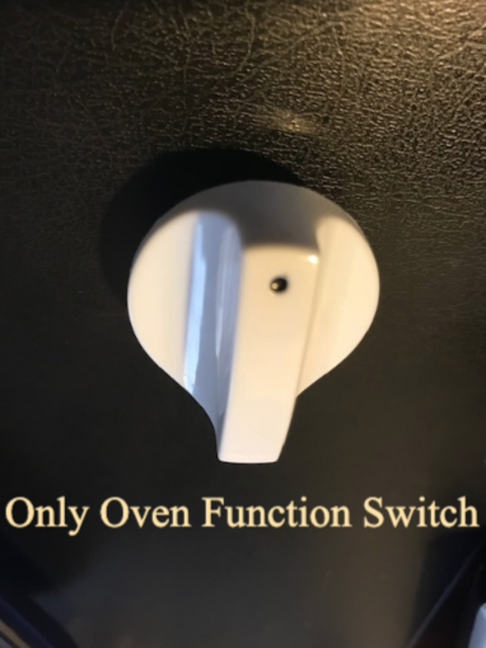 CLASSIQUE FREESTANDING OVEN Selector switch  KNOB CLCFSC60W, CLFSG60W,