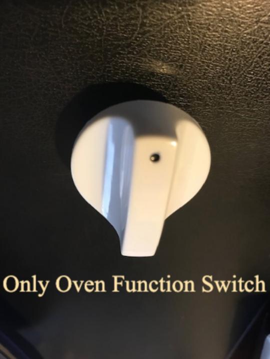 CLASSIQUE FREESTANDING OVEN Selector switch  KNOB CLCFSC60W, CLFSG60W,
