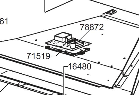 Smeg Oven Main PCB  SCA712-3, SCA712-2,