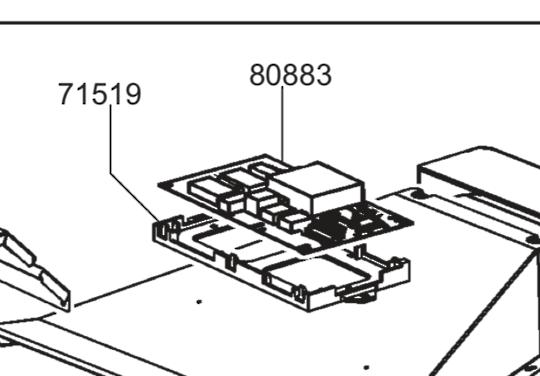 Smeg Oven PCB main SC112N-8, SA112-8,