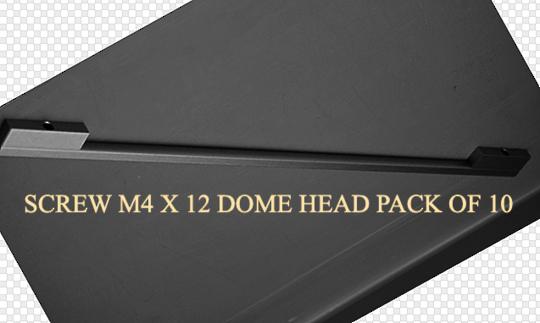 fisher paykel fridge door Handle Designer series SCREWS DOME HEAD M4  X 12  PACK OF 10 N388RXFD, C450RM, C450LM, FPN3888RCSSSM,