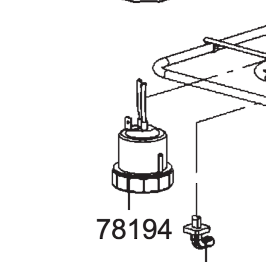 Smeg Microwave lamp holder Assy complete SC45M2,
