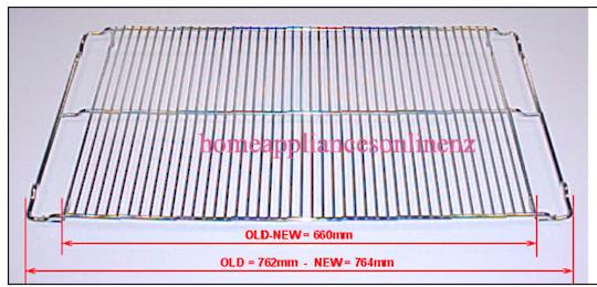 Smeg Oven Rack Wire Shelf SCD91MFX,  762mm- 764mm  x 398mm,