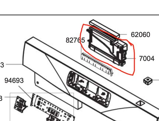 Smeg Dishwasher Main Pcb DWA214X,