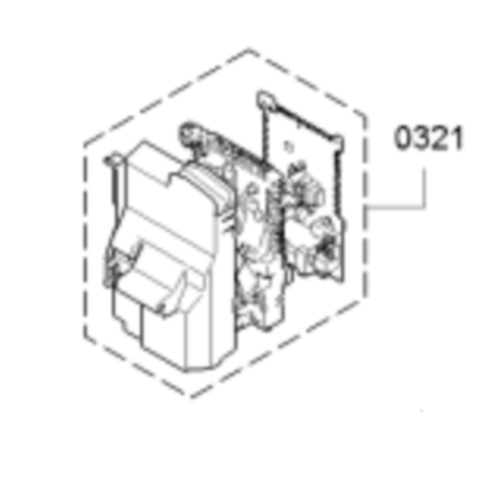 Bosch Washing Machine Power controler Board  WAW28460AU/01,