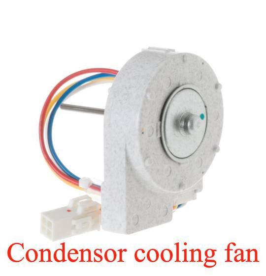 Ge Whirlpool Maytag fridge Condenser Fan Motor Beside Compressor ZISW360DMD, ZISW360DRA,
