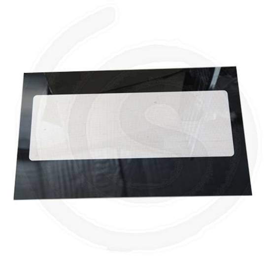 ILVE OVEN 900 STAINLESS STEEL INNER DOOR GLASS 642MM X 398MM TRIPLE GLAZED OVEN
