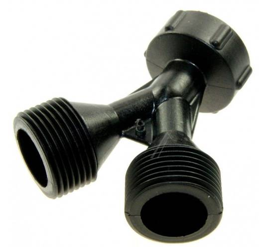 Inlet Hose CONNECTOR UNIVERSAL TWO HOSE IN ONE CONNECTOR, with NO WASHER