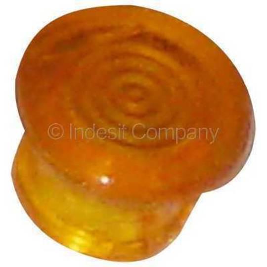 Indesit OVEN Pilot Light Lens Orange Thermostat and switch indicator K970G(WH)/I,