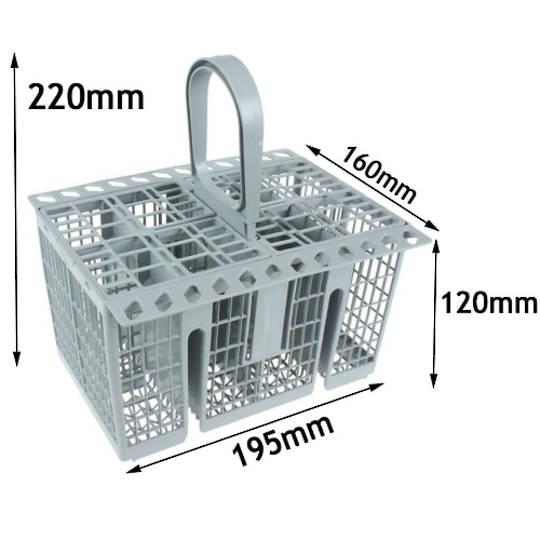 Ariston Indesit Dishwasher Cutlery Basket new type LFF8M5XAUS, LFF8M132CXAUS, LFF8M5AUS, LFF8M132CAUS, LFF8M122AUS, LFF8M122xAU