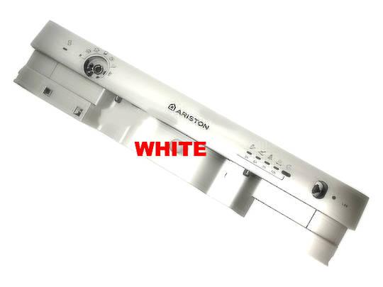Ariston Dishwasher Control Panel frame silver Panel Facia L63 AUS, WHITE