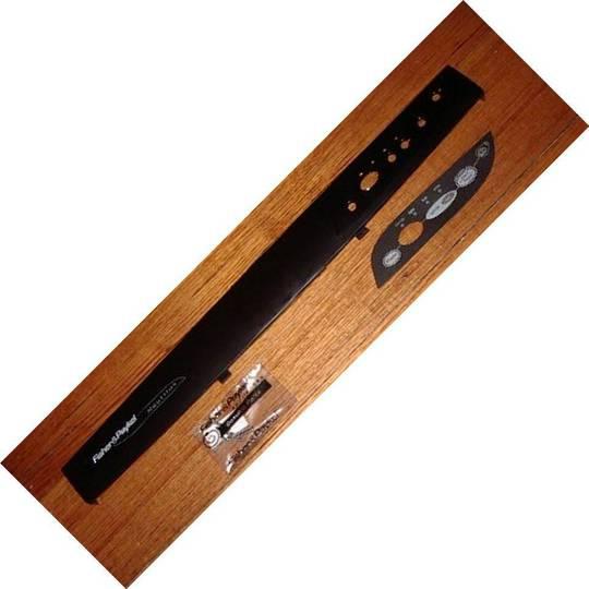 Fisher Paykel dishwasher control panel nautilus DW920. BLACK *1813