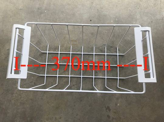 Fisher Paykel freezer Basket RC201W1, product code 24955, RC376, 370mm from bar to bar,
