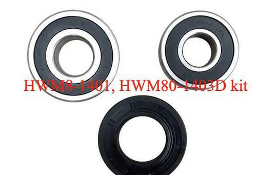 HAIRE WASHING MACHINE BEARING and seal kit HWM80-1403D, Hwm80-1401,