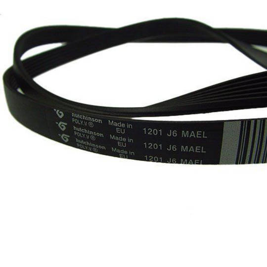 Ariston Washing machine belt AQXXF129 Belt Size 1201J6, 1198J6, 6PJE 1201, 1201 j6 mael,