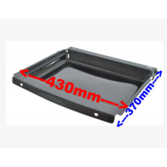 Simpson Westinghouse Oven DISH GRILL TRAY ENAMEL 370mm x 430mm