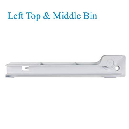 Bosch Fridge Veggie Bin Vegitable container rail slide Left top and med KAN56V10AU, KAN58A40, KAN58A70, KAN58A50