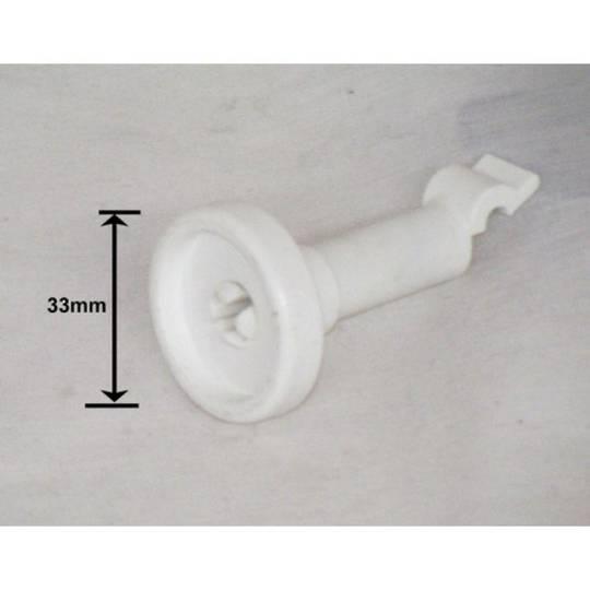 SIMPSON WESTINGHOUSE DISHWASHER LOWER basket wheel rear  52B850SF*01 ,