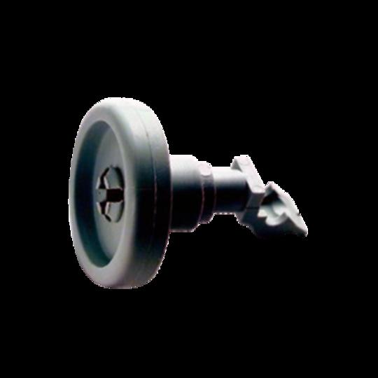SIMPSON WESTINGHOUSE DISHWASHER LOWER Basket Wheel 52B850WH*01, PACK OF 2