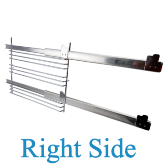 Westinghouse Side rack support including rail Right hand POP663S,