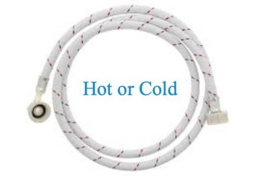 Washing Machine and dishwasher Inlet Hose 2 meter long Hot can be use as cold too,