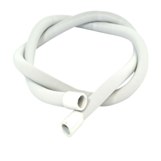 SIMPSON WESTINGHOUSE Electrolux Aeg Dishwasher HOSE DRAIN AND EXTENSIONS 2M STRAIGHT CUFFS BOTH 20MM INTERNAL