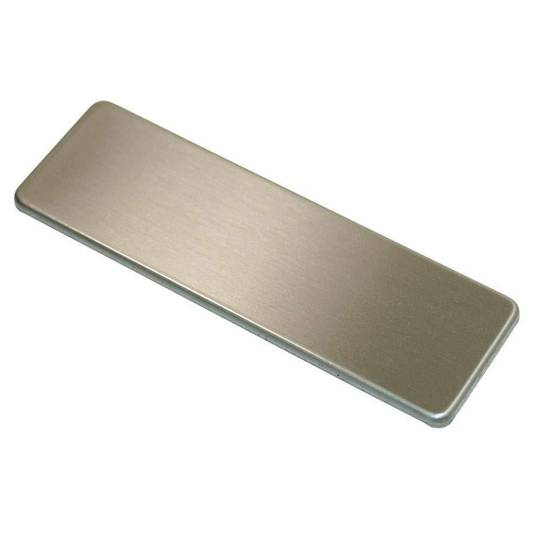SMEG DISHWASHER DOOR HANDLE COVER STAINLESS STEEL INSERT DF612FAS, DF612SDX7, DF614FAS7, sa8605bi,