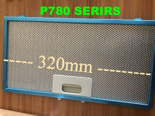 Smeg Ranghood Filter P780, P780.1, P780.2, P780.3, P780.4, 320mm x 170mm ,