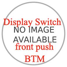 Baumatic RANGEHOOD Push bottom front switch  BF60LEDSS, AYD-006,