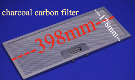 Robinhood Rangehood Charcoal Filter RPA3CI6SS, Or WH and all model start with RPA 600 series