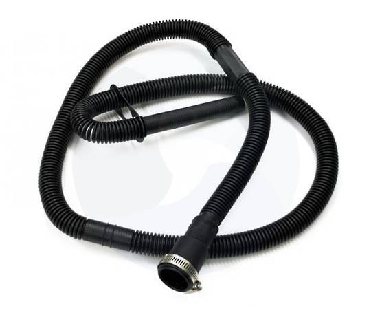 "WHIRLPOOL AND MAYTAG WASHING MACHINE OUT LET HOSE TOP LOADER Drain Hose 48"" length. Includes clamp"