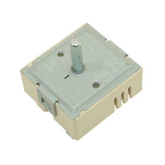 Bosch Smeg Siemens Regulator switch for cooktop Dual Element and Grill DUAL SIMMERSTAT,
