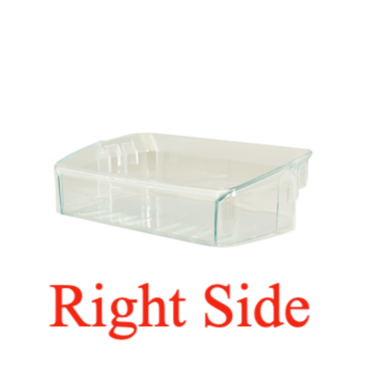 Westinghouse and Simpson fridge Half Shelf Right side of Door WBM3700PB, WBM3700SB, WBM3700WB, WBM4000SB, WBM4000WB,  *1783
