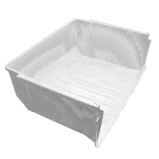 Westinghouse Fridge Freezer Bin rear up freezer section WBM4000SB No longer available