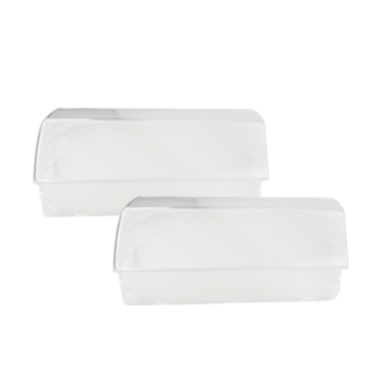 Westinghouse and Simpson fridge Dairy lid door shelf cover left and right RJ446V, RJ425V, RJ442V, RJ443V, RJ445V, BJ383V, BJ385V