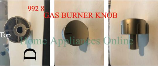 DELONGHI Oven Gas Burner Knob DE60GW, DE906GWF, DE91GW, DE91GW1 , **009462