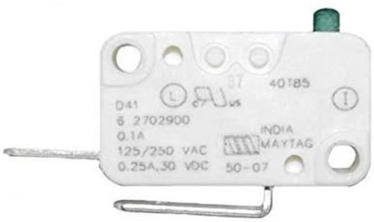 Whirlpool and Maytag washing machine Door Micro Switch  ,