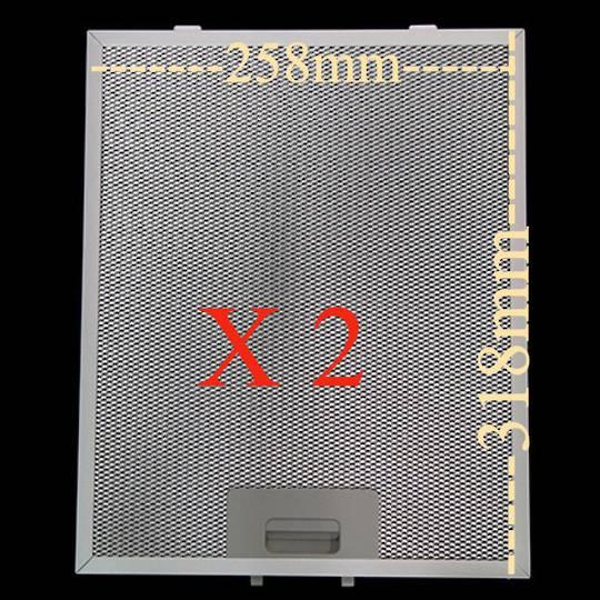 Robinhood Rangehood Charcoal, Carbon Filter RWC3CH6SS, 600 wide pack of 2  ,