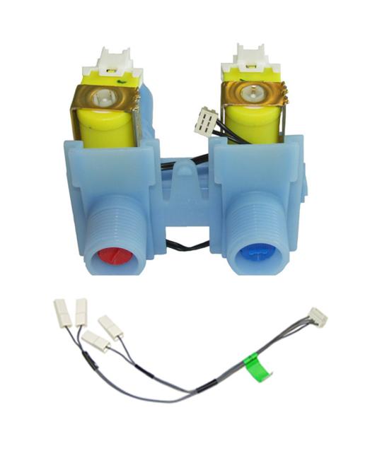 Elba washing machine Inlet Valve  WA70T60FW1 – 92132-A – 92158-A – 98158-A, WA75T65GW1 – 92169-A – 93206-A,WA80T65FW1 – *657p