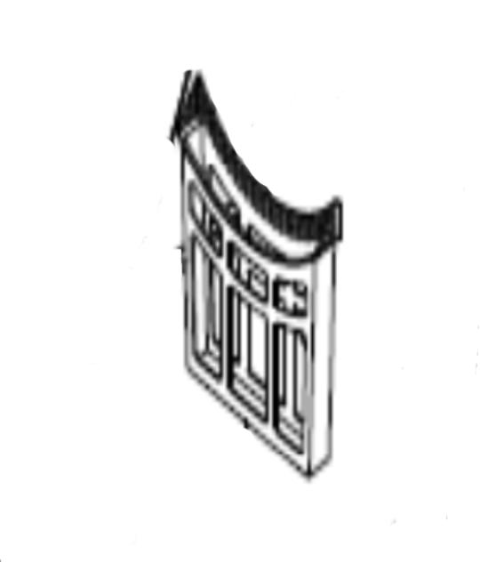 Classique Dryer LINT FILTER FLUFF FILTER CL7DRY,