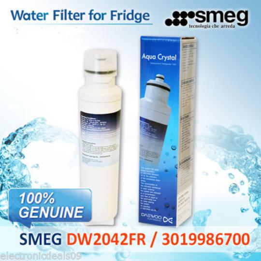 SMEG FRIDGE FREEZER WATER Filter SR610, SR620, SF640, DW2042FR, DW2042FB, SR620X, SR610X,