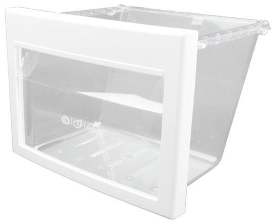 Lg Fridge Crisper Bin Inside lower Freezer GC-L197NFS,