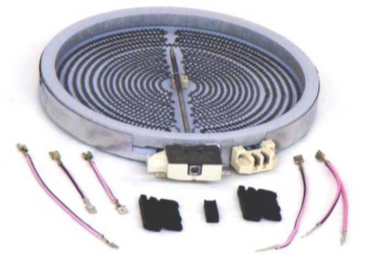 WESTINGHOUSE SIMPSON ELECTROLUX COOKTOP DUAL CERAMIC COOKTOP ELEMENT APOLLO, 4U606W, 4U608W,