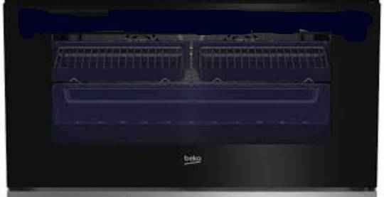 Beko Oven outer door bfc916gmx,