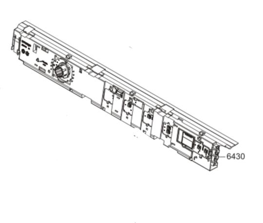 Asko Dryer Pcb Power Controller Board T754c w, TD70.1C, TD70.1 T754c w,  *7457