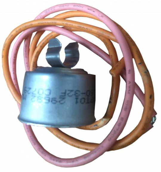 DEFROST TERMINATION THERMOSTAT F/FREE rf027p, DEFROST TERMINATION BI-METAL L60-32F