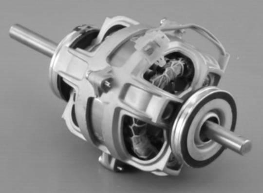 Fisher Paykel Dryer MOTOR PSC REVERSING DE50F56E1,  DE45F56AW1, DE45F56EW1, DE50F56A1, DE50F56A2,