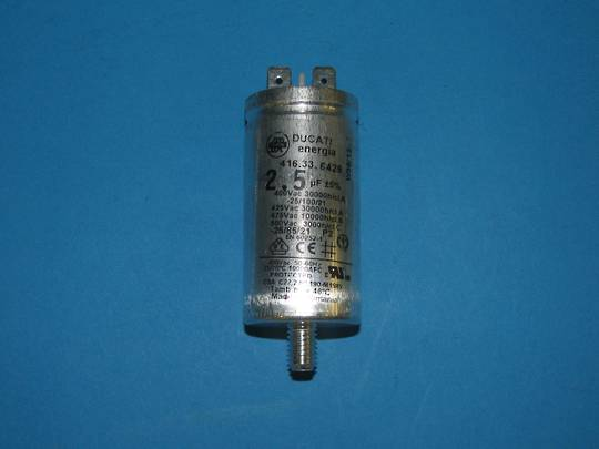 Asko Dishwasher Capacitor 2.5uf,  2.5MF , DW70.5, D5142, all model with 2.5 Uf .