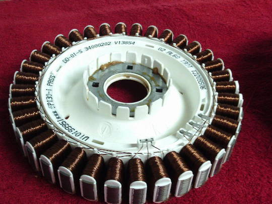 Fisher Paykel Washing Machine Motor Stator Assy smart drive WL80, WL70, WA80, WA55, WA65, WA75, WA70