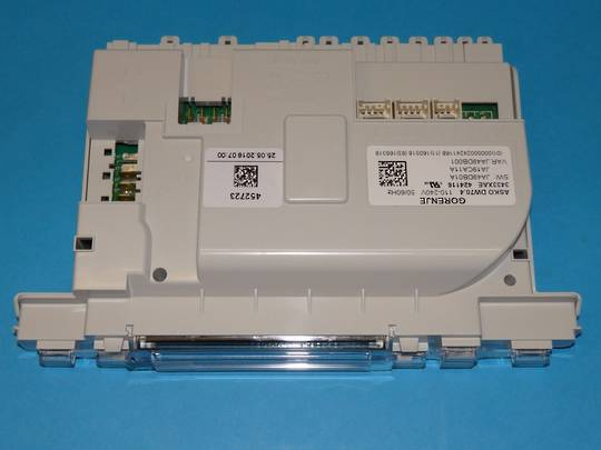 Asko Dishwasher  D5893  ART 1065893156 and 1065893121 DW70.4 PCB after 12/2009